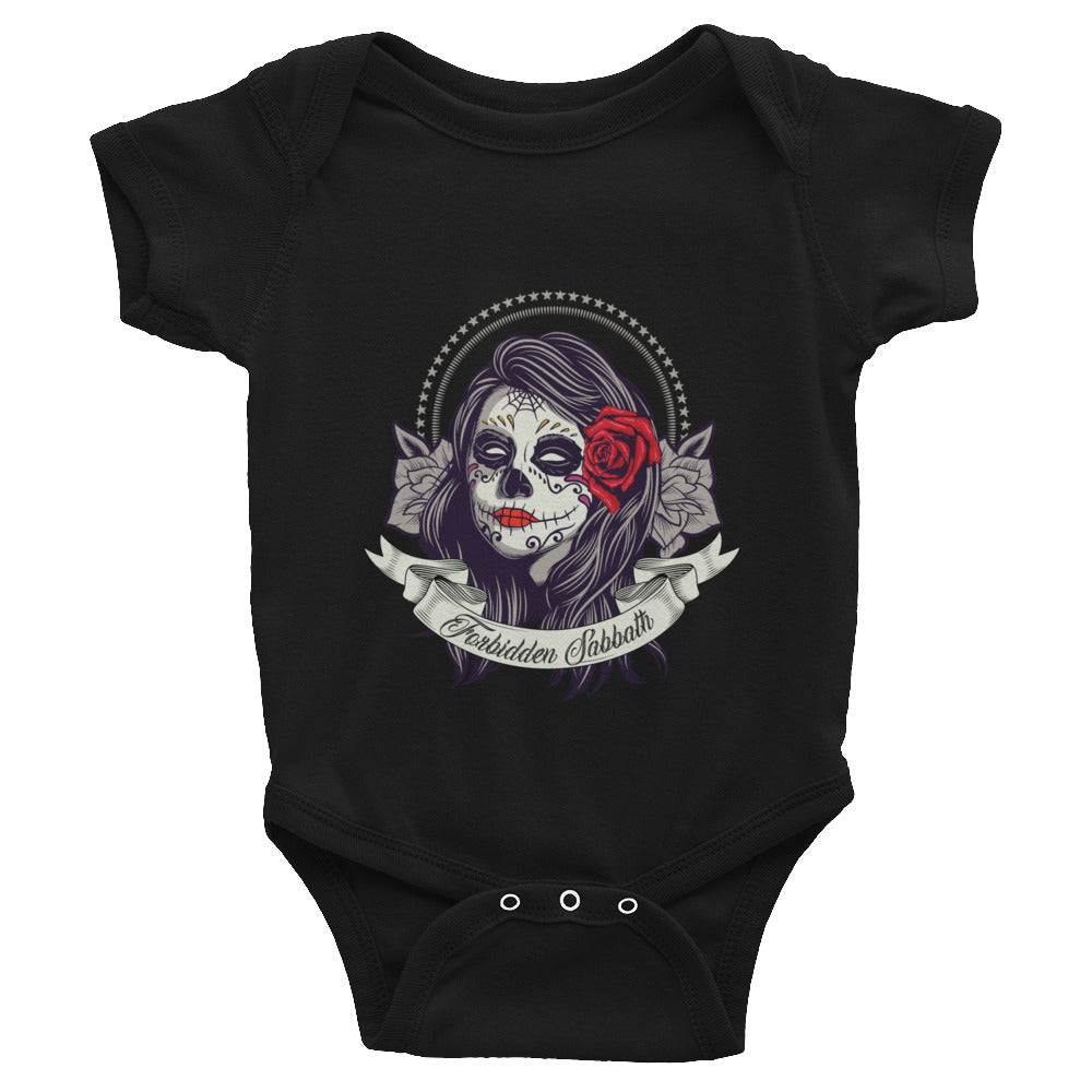 Day of The Dead Dark Rose-Infant Bodysuit