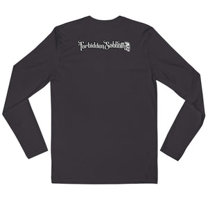 MERMAID, Long Sleeve Fitted Crew