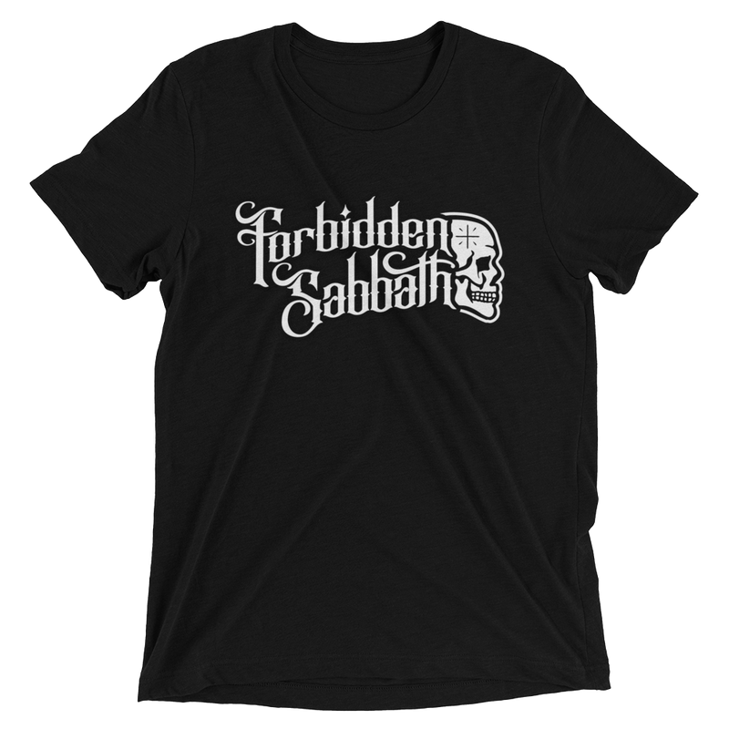 FORBIDDEN SABBATH LOGO-Short sleeve t-shirt