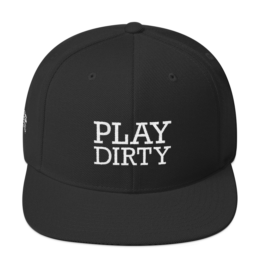 Play Dirty, Wool Blend Snapback