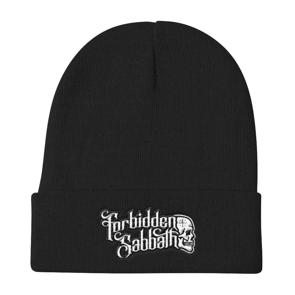 Forbidden Sabbath Knit Beanie