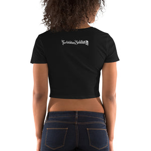 FORBIDDEN SABBATH ICON-WOMEN'S CROP TOP