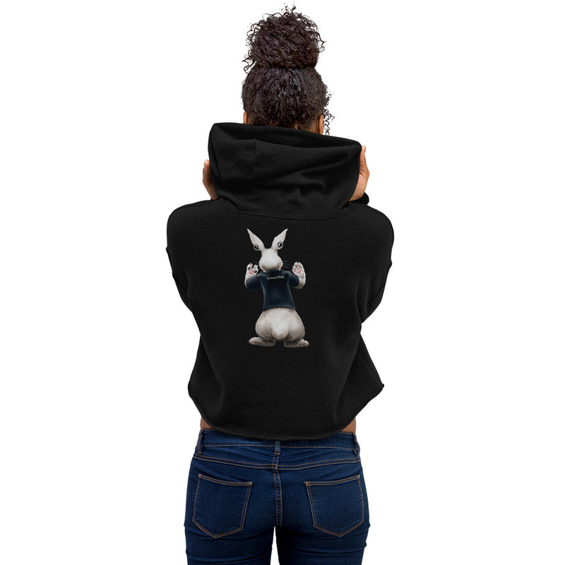 "JET ""THE RABBET"" CROPPED HOODIE"