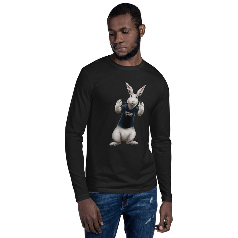 "JET ""THE RABBET"" LONG SLEEVE FITTED CREW"