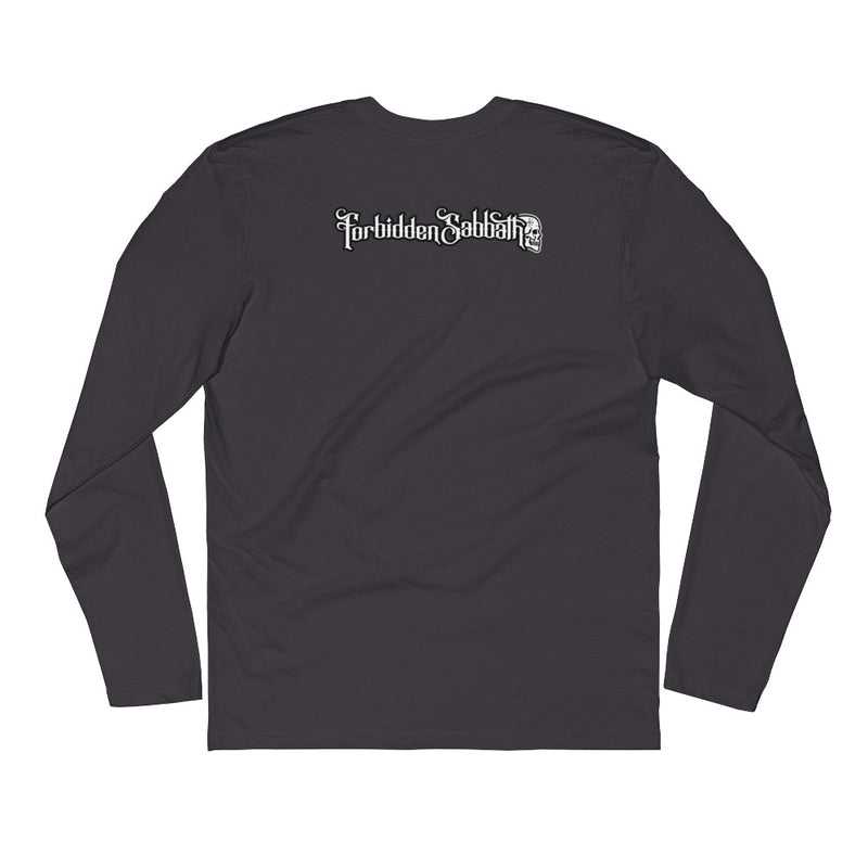 187 Black & Gold-Long Sleeve Fitted Crew