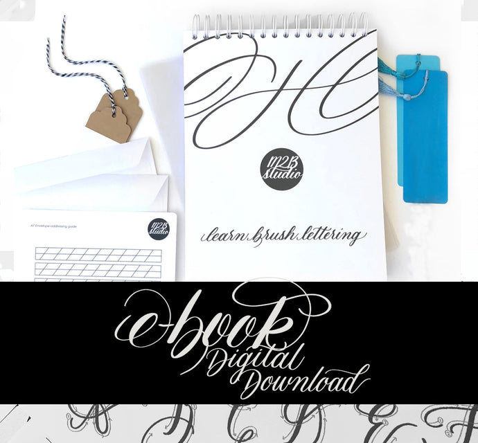 Brush Lettering Kit: The E-BOOK - Digital Download