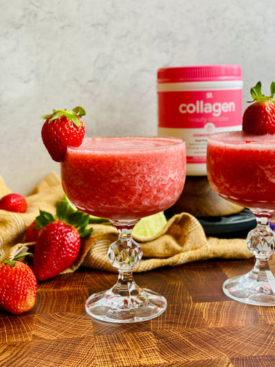 Collagen Beauty Complex Strawberry Lemonade Mocktail