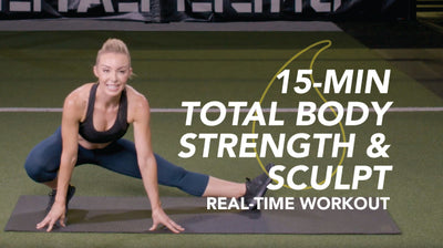 15-Min Body Strength & Sculpt: Sweet Sweat Real Time Workout