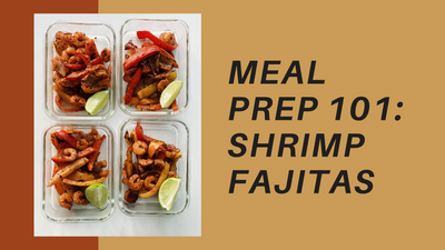 Easy 20 Minute Sheet Pan Chili Lime Shrimp Fajitas