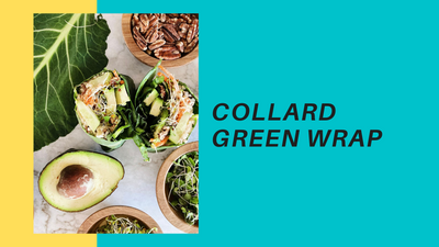 Collard Green Wrap