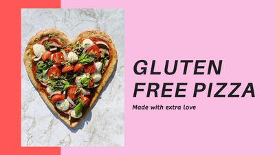 Gluten-Free Heart Pizza