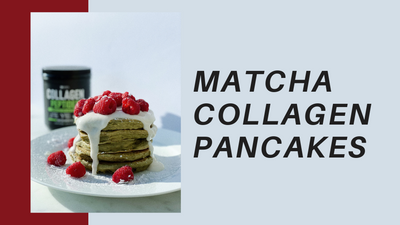 Collagen-Rich Matcha Pancakes