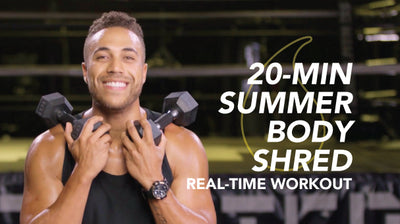 20-Minute Legs & Back Shred: Sweet Sweat Real-Time Workout