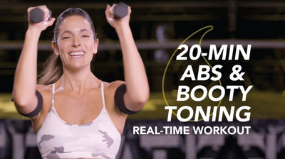20-Minute Arms, Abs & Booty: Sweet Sweat Real Time Workout