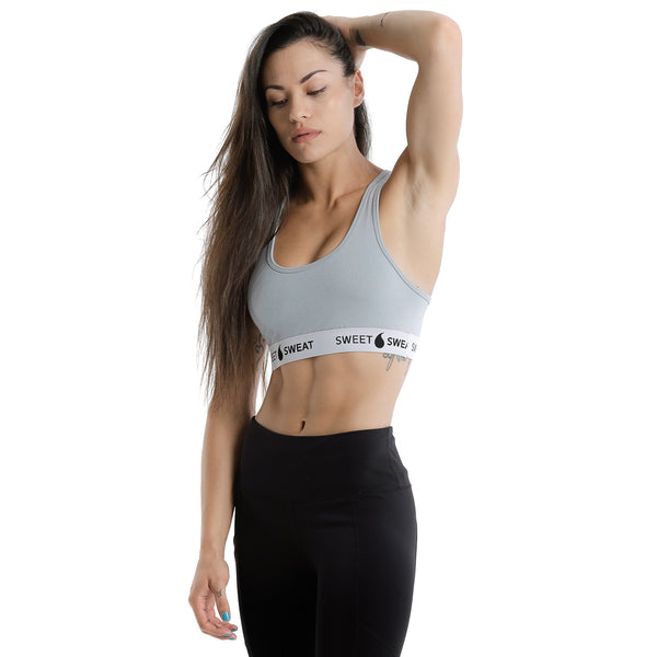 Activewear Strength Training Bra in Grey
