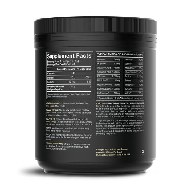 Flavored Collagen Peptides