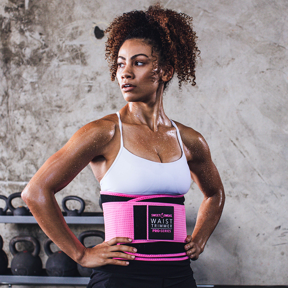 Pro Series Waist Trimmer Black & Pink