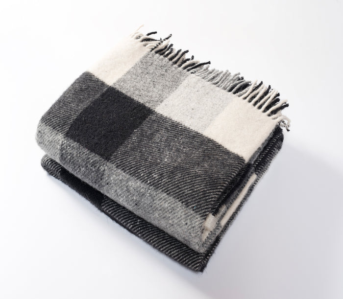 Classic Check Throw Black/Cream