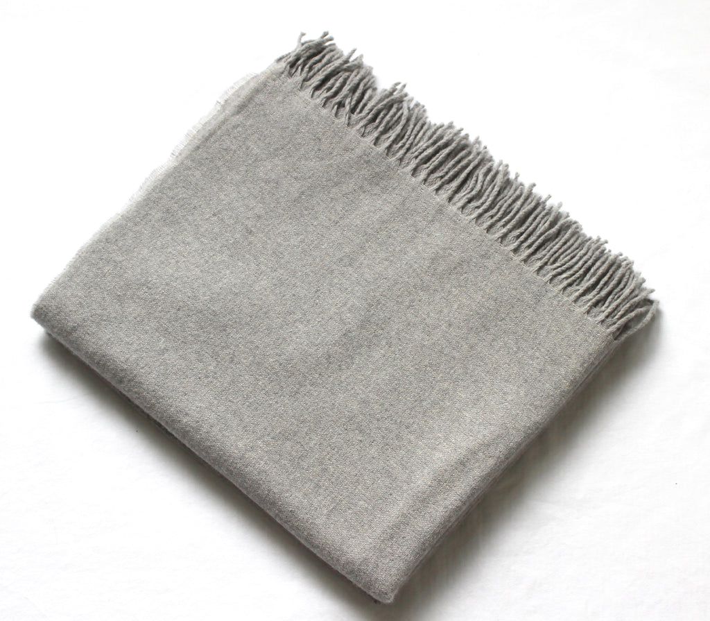 Cashmere Collection Throw Grey