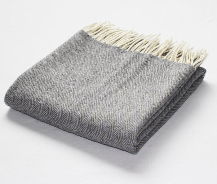 Cashmere Pashmina in Grey