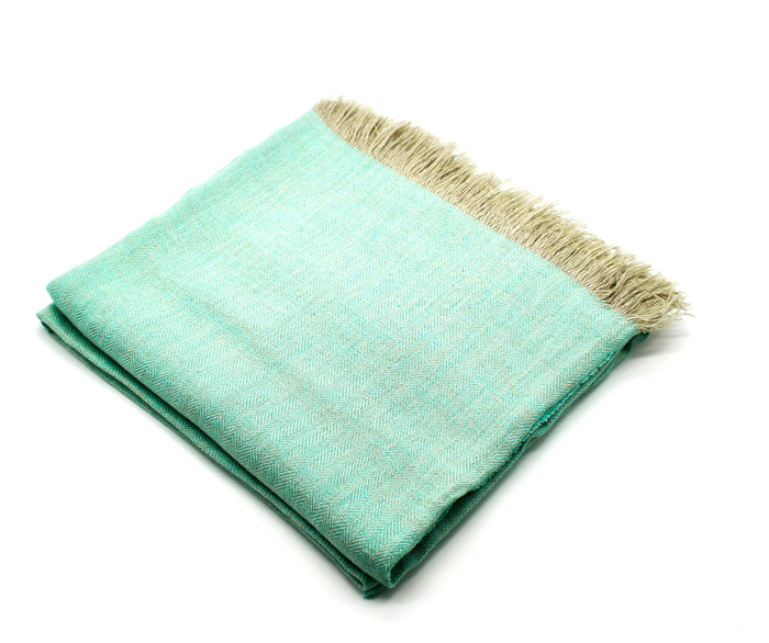 Linen Throw Mint