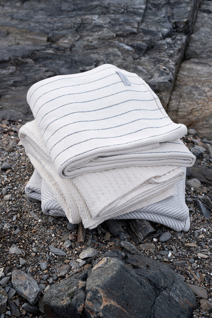 Herringbone Blanket Natural