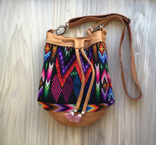 Chevron Tube Crossbody Bag
