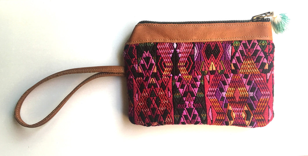 Pink Tribe Clutch