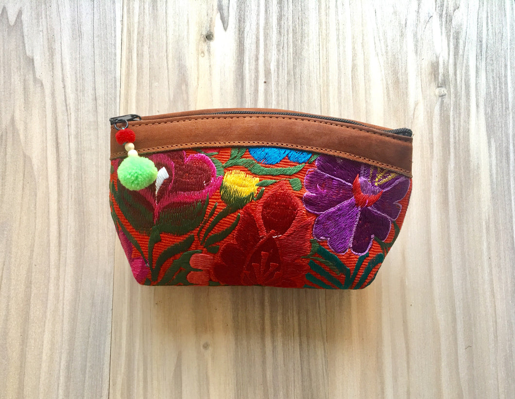 Floral Make Up Bag/Clutch №2