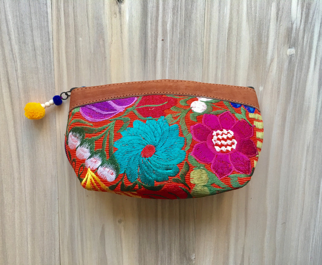 Floral Make Up Bag/Clutch №3
