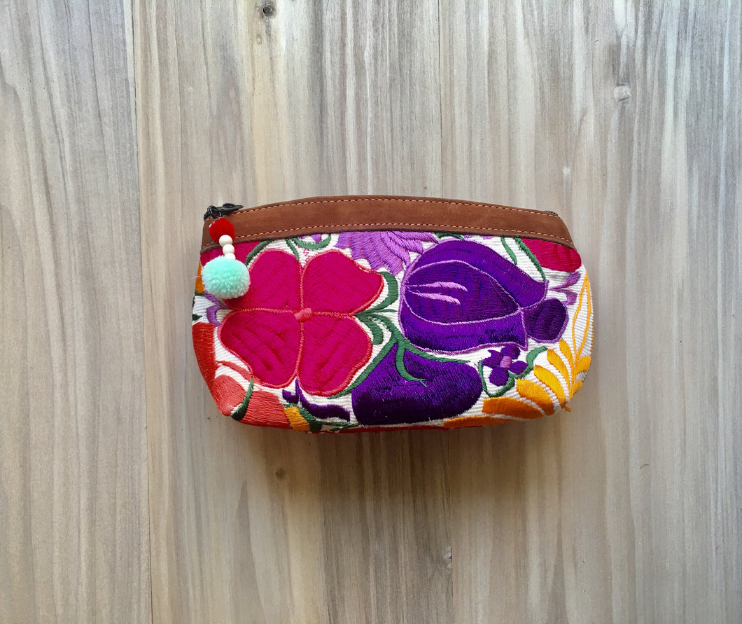Floral Tropical Make Up Bag/Clutch №4