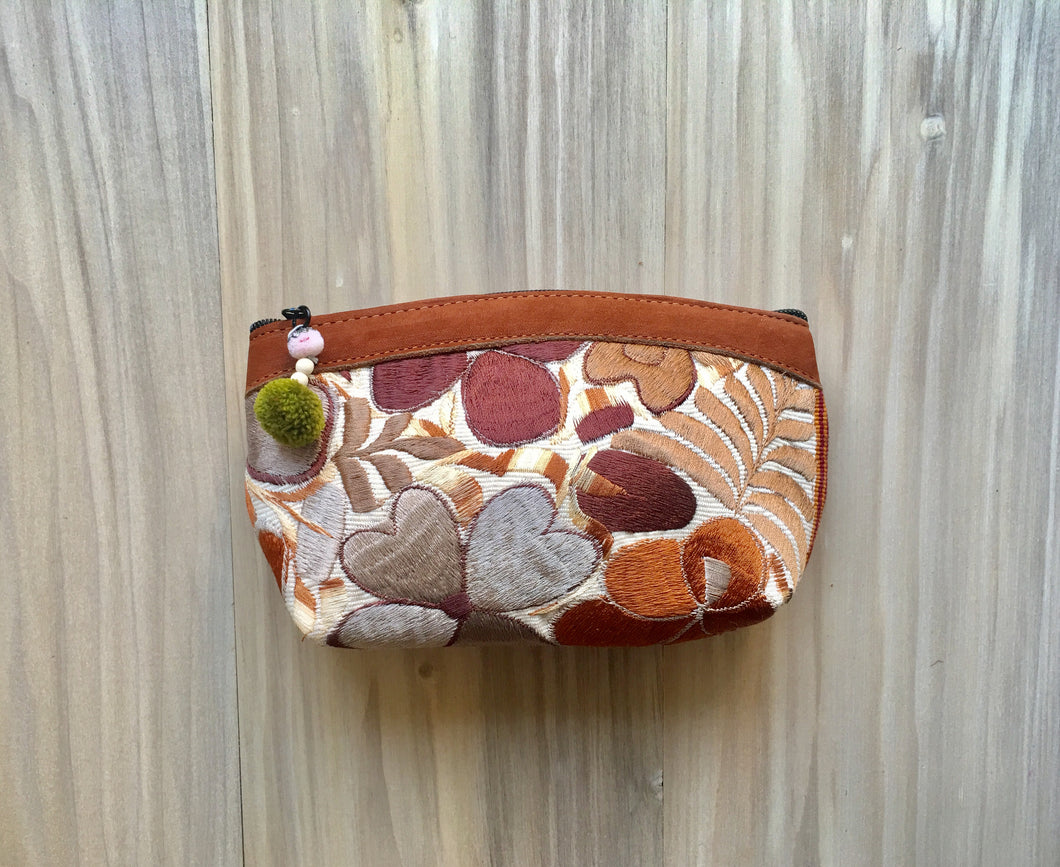 Floral Tropical Make Up Bag/Clutch №6