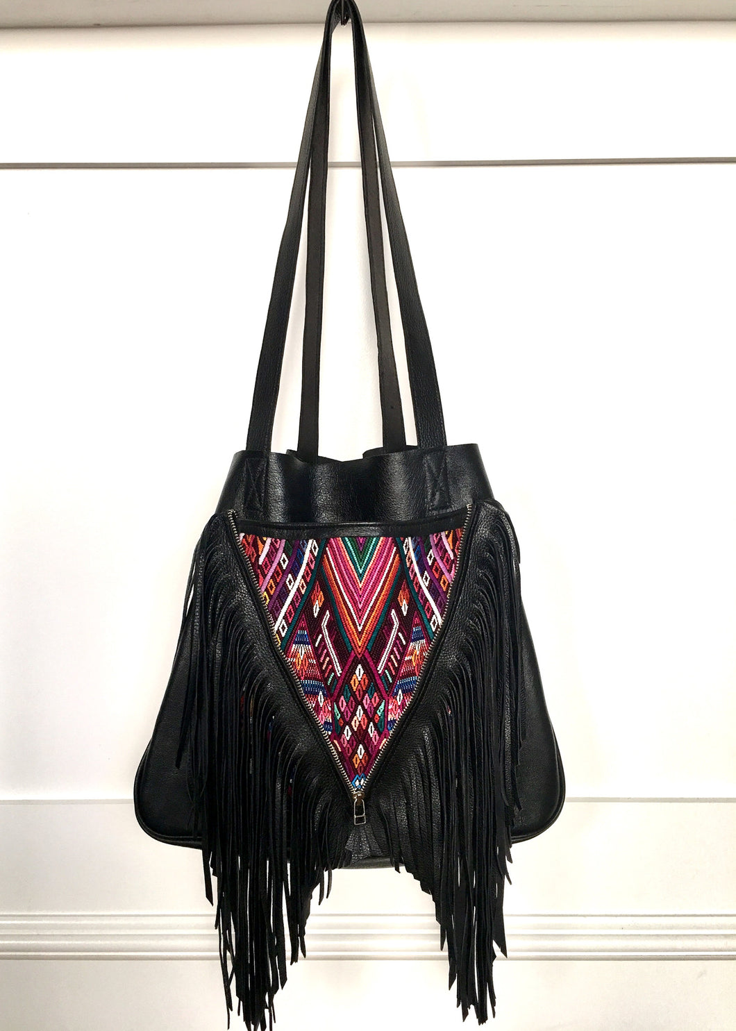 Black Leather Fringe