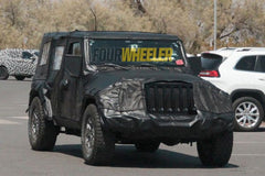 prototype of Jeep Wrangler JL