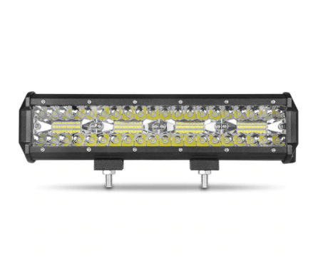 "12""  Black LED Light Bar Combo Spotlight"