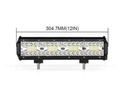 "Tri-Row LED Light Bar In Multiple Sizes - 4"" 7"" 9"" 12"" 15"" 18"" 20"" Jeep Wrangler Light Bar"