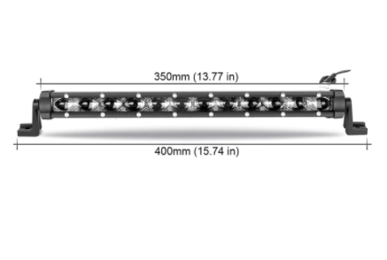 "Slim LED Light Bar In Multiple Sizes - 8"" 14"" 20"" 26"" 32"" Jeep Wrangler Light Bar"