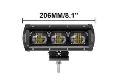 "8"" 14"" 20"" 27"" 34"" 40"" Single Row 6D Lens LED Light Bar - Spotlight Work/Trail Light"
