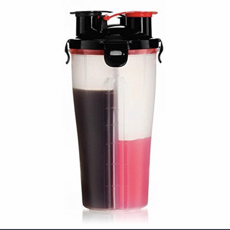 HIGH PERFORMANCE DUAL SHAKER CUP