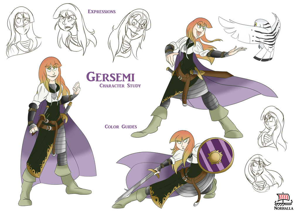 Gersemi is one of Freyja and Odur's daughters, and sister to Hnossa. Norhalla.com