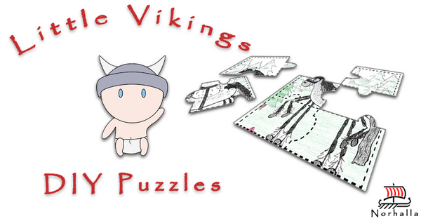 Little Vikings DIY Puzzles