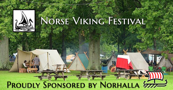 Norhalla is a proud sponsor of the Norse Viking Festival!