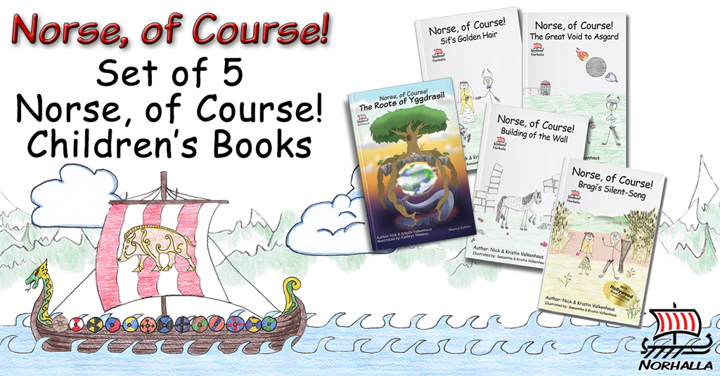 Norse of Course children's books, set of 5 at Norhalla.com