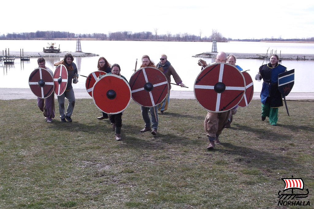 Dansk Spyd Viking Raiders are a group of competitive, steel fighting, Viking age re-enactors based out of Springfield Ohio.