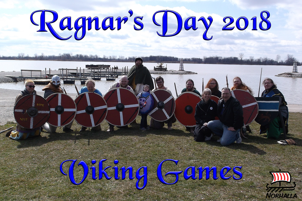 Valkenhaus family's 6th annual observance of Ragnar's Day will take place over Easter weekend, March 30th through April 1st, with Viking Games! Norhalla.com