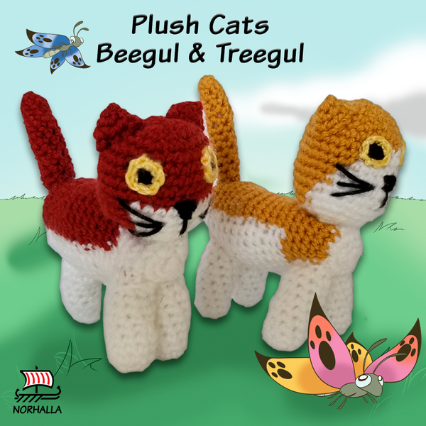 Plush Cats Beegul & Treegul