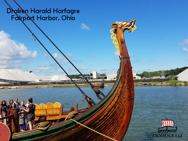 The Draken Harald Hårfagre is the worlds largest Viking ship sailing from Norway to America. Norhalla.com