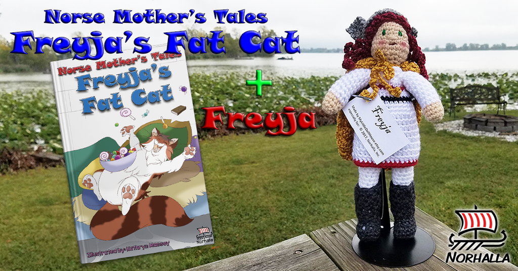 Freyja's Fat Cat and plush Freyja combo at Norhalla.com