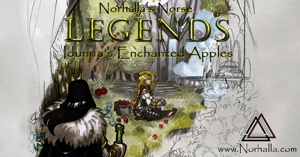 Norhalla's Norse Legends, Idunna's Enchanted Apples