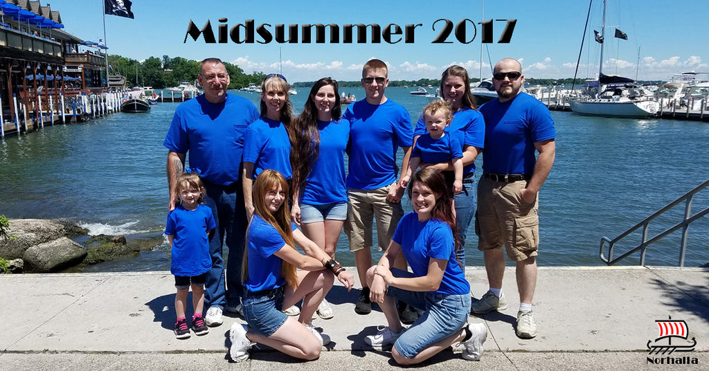 Midsummer 2017 for the Valkenhaus Crew! Norhalla.com